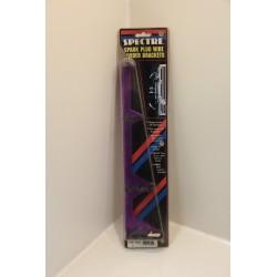 Support de faisceau d'allumage clipsé violet faisceau 9mm max