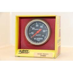 Manomètre pression compmresseur (blower pressure) Auto meter 3402