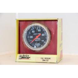 Manomètre pression d'essence Auto meter 3412 Vintage Garage