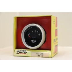 Manomètre niveau d'essence Auto meter 3512