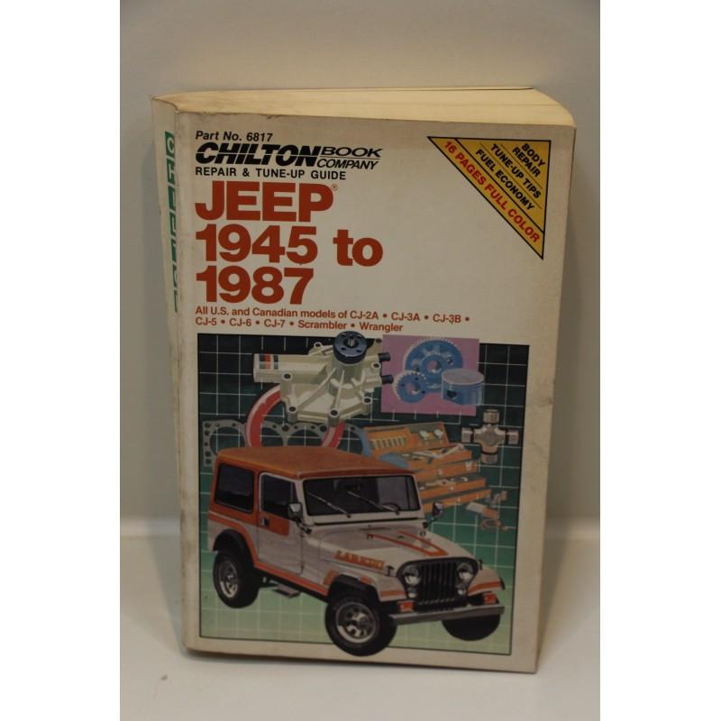 revue technique jeep de 1945 1987 scrambler wrangler en. Black Bedroom Furniture Sets. Home Design Ideas