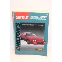 Revue technique Chevrolet Camaro de 1982 à 1992 en anglais