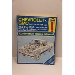 Revue technique Chevrolet et GMC S10 S15 pick-ups de 1982 à 1993 en anglais