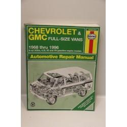 Revue technique Chevrolet et GMC de 1968 à 1996 en anglais (4,3 V6 et V8 )
