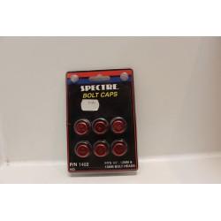 Cache vis rouge pour tête de boulon 1/2'' 12mm et 13mm Vintage
