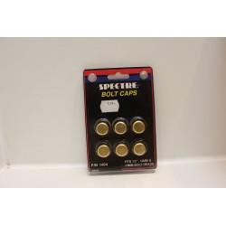 Cache vis doré pour tête de boulon 1/2'' 12mm et 13mm Vintage
