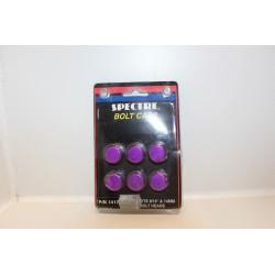 Cache vis violet pour tête de boulon 9/16'' et 14mm