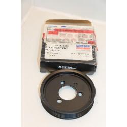 Poulie de pompe à eau 3 vis diamètre  105mm
