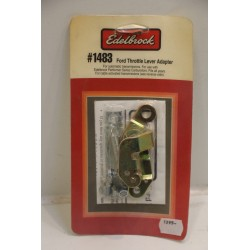 Kit adaptateur carburateur Edelbrock câble d'accélérateur pour Ford avant 1968