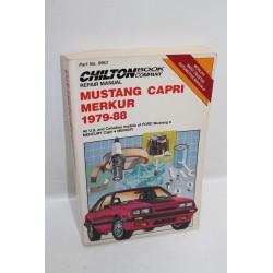 Manuel de réparation Mustang Capri Merkur de 1979 à 1988 zn