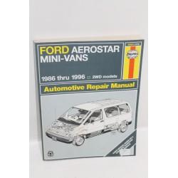 Manuel de réparation pour Ford Aerostar mini-van de 1986 à 1996
