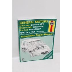 Manuel de réparation pour Chevrolet Lumina APV de 1990 à 1995 en anglais
