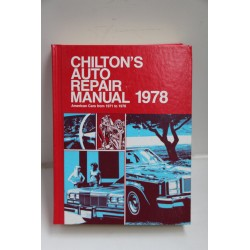 Manuel de réparation Chrysler  Ford GM de 1971 à 1978 en anglais