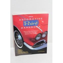 Manuel d'aide à la préparation et à la peinture sur automobile en anglais