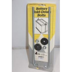 Tiges de maintient batterie en « J » Vintage Garage