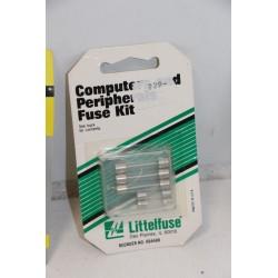 Lot de 5 fusible verres de 0,5 à 2 ampères (format MSL et GDC)