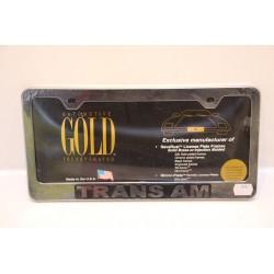 Support de plaque d'immatriculation plastique Trans Am Vintage
