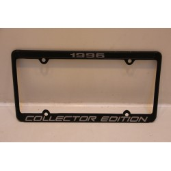Support de plaque d'immatriculation métallique « 1996 collector