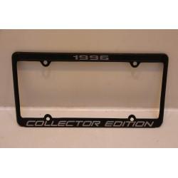Support de plaque d'immatriculation métallique «1996 collector edition»