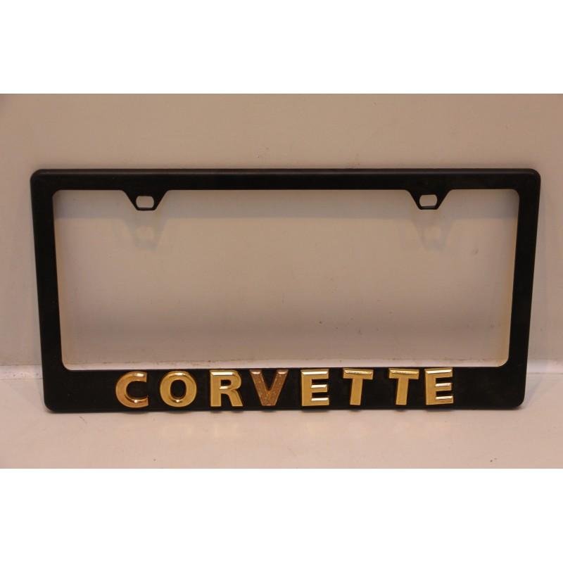 Support de plaque d immatriculation m tallique corvette for Garage plaque d immatriculation