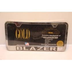 Support de plaque d'immatriculation plastique Blazer Vintage