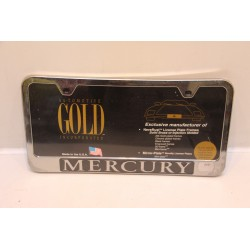 Support de plaque d'immatriculation plastique pour Mercury