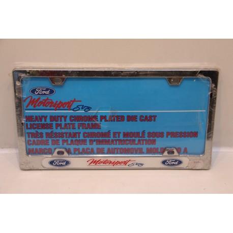 Support de plaque d immatriculation m tallique ford vintage garage - Garage plaque immatriculation ...
