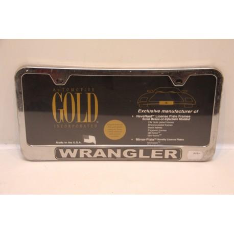 Support de plaque d immatriculation plastique wrangler vintage garage - Garage plaque immatriculation ...