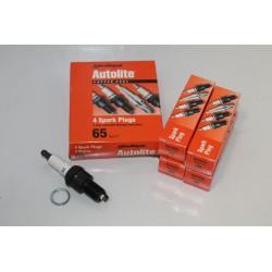 Bougie unitaire Autolite référence 65 Vintage Garage