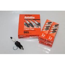 Bougie unitaire Autolite référence 985 Vintage Garage