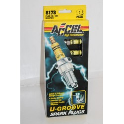 Lot de 8 bougies Accel Chevrolet 307-454 de 1972 à 1974 402 454 de 1970