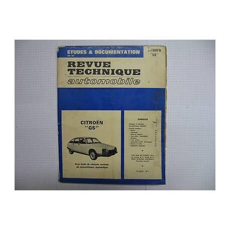 Revue technique pour CITROEN GS Vintage Garage