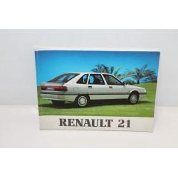 Manuel d'utilisation pour Renault 21 Vintage Garage