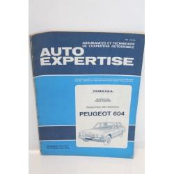 Revue auto Expertise Fiches SRA pour Peugeot 604