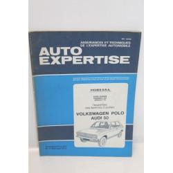 Revue auto Expertise Fiches SRA pour Volkswagen Polo pour Audi 50