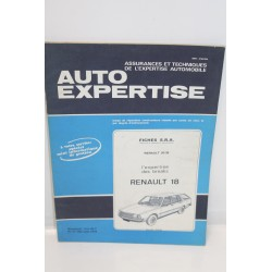 Revue auto Expertise Fiches SRA Renault 18