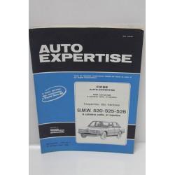 Revue auto Expertise Fiches SRA pour BMW 520 525 528 6