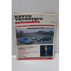 Revue Technique Automobile  Mercedes-Benz série W124 numéro 536 de février 1992