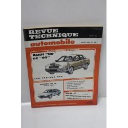 Revue Technique Automobile pour Audi 80 et 90 1,8s 1,8e 2,0E  2,2 E