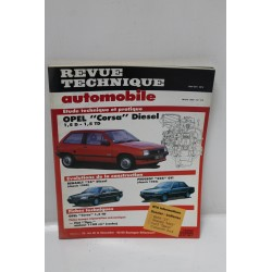 Revue Technique Automobile Opel Corsa Diesel 1,5l et 1,5 turbo diesel mars 1990