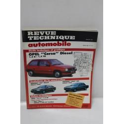 Revue Technique Automobile pour Opel Corsa Diesel 1,5l et 1,5 turbo diesel mars 1990