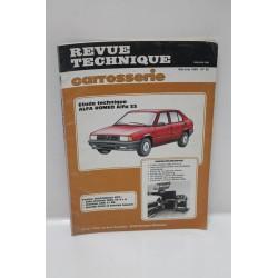 Revue Technique carrosserie  Alfa Romeo 33 numéro  95 mai – juin 1985