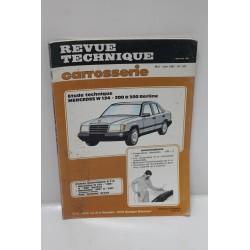 Revue Technique carrosserie pour Mercedes W124 200 à 300 berlines mai – juin 1987