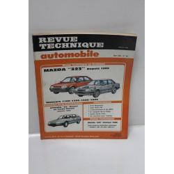Revue Technique Automobile pour Mazda 323 1100, 1300, 1500
