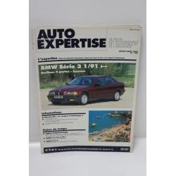 Auto expertise pour BMW série 3 juillet août 1992 numéro 156