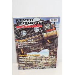Revue technique automobile dossier 4x4 évolution pour Land Rover Defender  Discovery 94-98