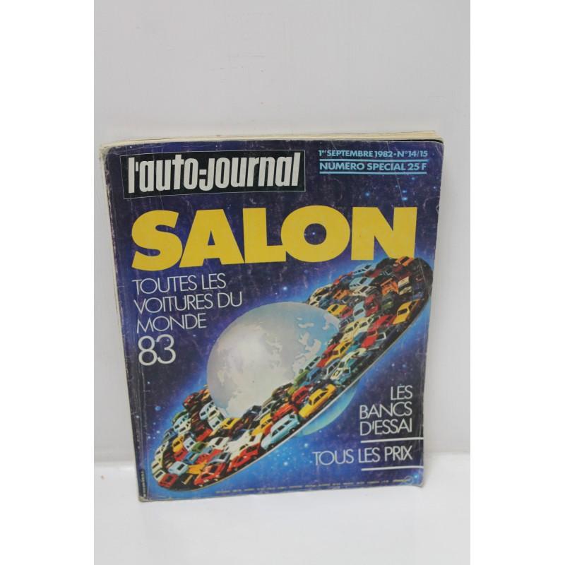 l auto journal toutes les voitures du monde 1983 numero 14 15 de septembre 1982 vintage garage. Black Bedroom Furniture Sets. Home Design Ideas