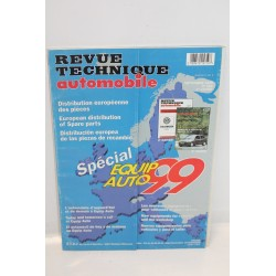 Revue technique automobile spécial equip automobile 1999  de septembre 1999