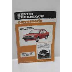 Revue technique  Service Carrosserie pour Volkswagen Jetta  numéro 109 octobre 1987