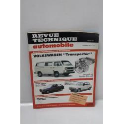 Revue technique automobile pour Volkswagen Transporter de novembre 1989